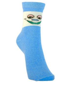 Носки голубые для ребенка 5-7 лет