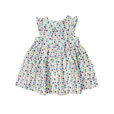 Платье текстильное Цветной горошек