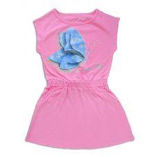 Платье для девочки Розовая бабочка