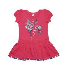 Арбузное платье для девочки Воздушные шарики