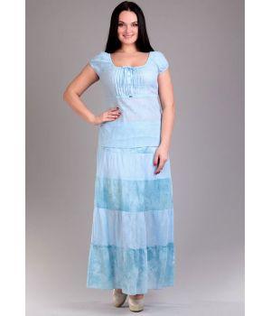 Комплект женский из блузы и юбки размер 50