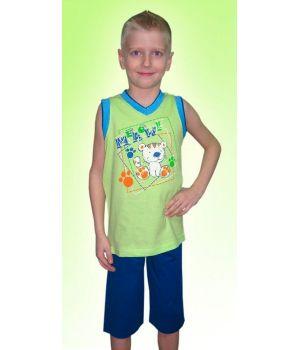 Детский зеленый комплект Тигренок