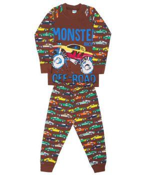 Пижама для мальчика Monster Racer