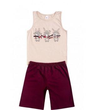 Пижама для мальчика Веселые зайцы