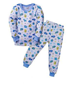 Пижама с начесом Тузик