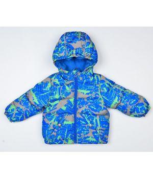 Куртка демисезонная для мальчика с утеплителем