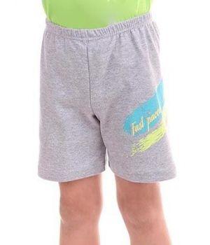 Короткие шорты для мальчика Меланж