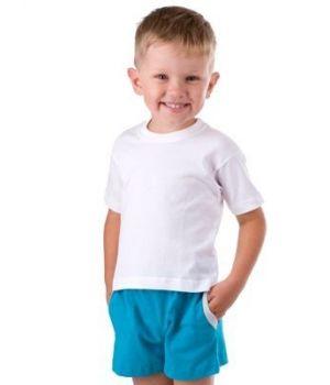 Белая футболка для подростка Basia