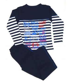 Пижама для мальчика Загадочные надписи