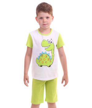 Легкая пижама для мальчика Дино