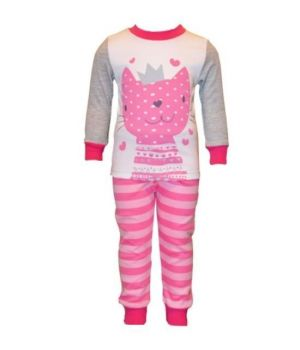 Пижама для девочки Котик