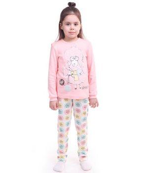 Пижама для девочки с барашком