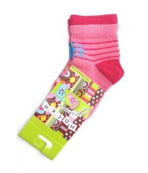 Носки детские Розовая полоска