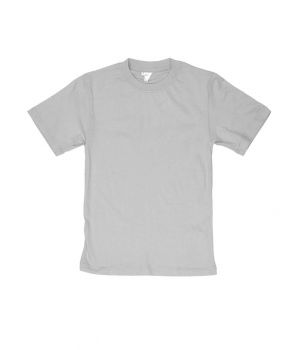 Легкая футболка на лето серого цвета