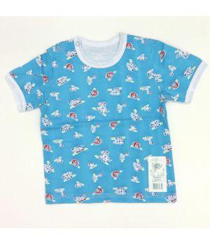 Красная футболка для малыша на 9 месяцев