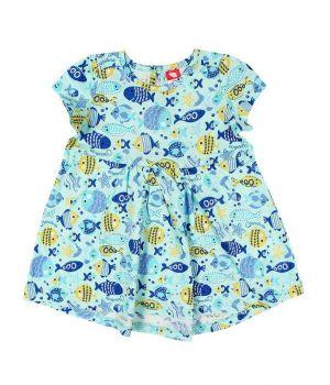 Платье для девочки Весёлые рыбки