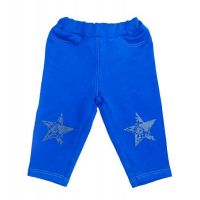 Брюки ясельная Звезда голубые