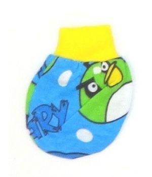 Голубые детские царапки Angry Birds