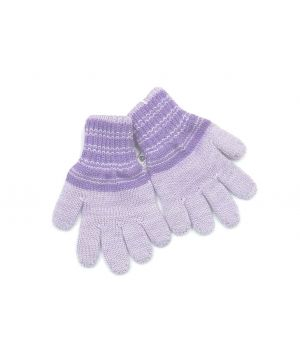 Перчатки детские голубые